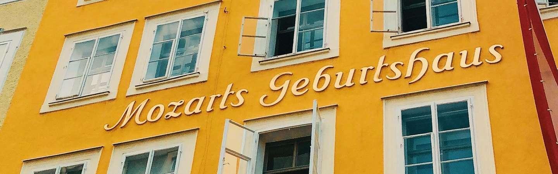 Österreich Reiseziel Mozart Geburtshaus